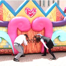 プリンセスパーティー!!開催中~♪ atけやき通り 甲府住宅公園