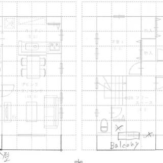 家造り研修会続編!!『シンプルな間取りから作る外観デザイン』ハウスモア大西が書いた、手書きの外観デザインお見せします!!