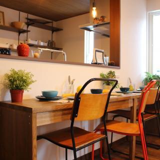 甲府市上今井町で直ぐに住める家具付き住宅 ヴィンテージスタイル